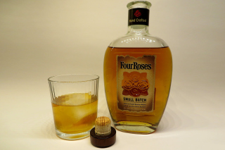 Four Roses Bourbon Background for Android, iPhone and iPad