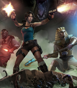 Lara Croft & Temple Of Osiris sfondi gratuiti per Samsung Dash