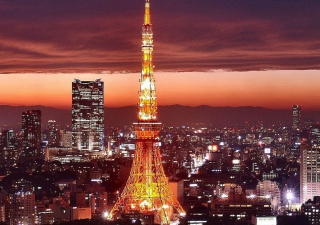 Tower Tokyo Wallpaper for Android, iPhone and iPad