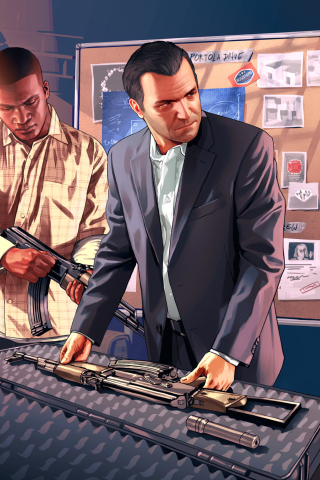 Grand Theft Auto V, Mike Franklin para Huawei G7300