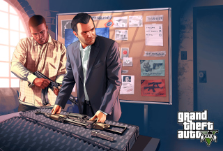 Grand Theft Auto V, Mike Franklin sfondi gratuiti per cellulari Android, iPhone, iPad e desktop