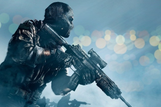 Soldier Call of Duty Ghosts Wallpaper for Android, iPhone and iPad
