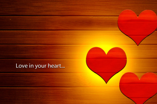 Love in your Heart Wallpaper for Android, iPhone and iPad
