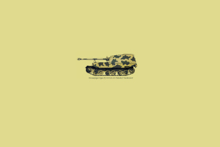 Tank Illustration Background for Android, iPhone and iPad