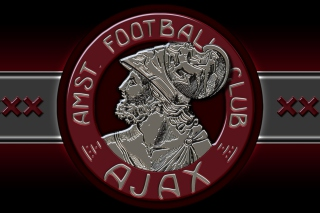 AFC Ajax Club HD Logo Background for 1400x1050