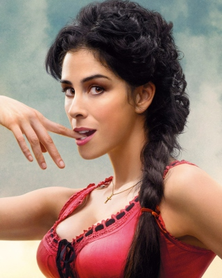 Sarah Silverman In A Million Ways To Die In The West papel de parede para celular para iPhone 4