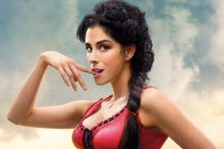 Kostenloses Sarah Silverman In A Million Ways To Die In The West Wallpaper für Android, iPhone und iPad
