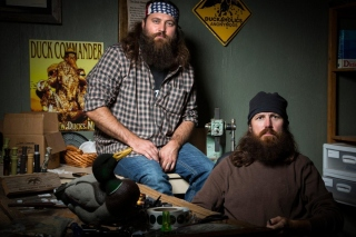 Duck Dynasty TV Series sfondi gratuiti per Samsung Galaxy Pop SHV-E220