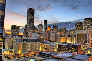 Free Houston City Picture for 220x176