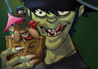 Gorillaz sfondi gratuiti per cellulari Android, iPhone, iPad e desktop