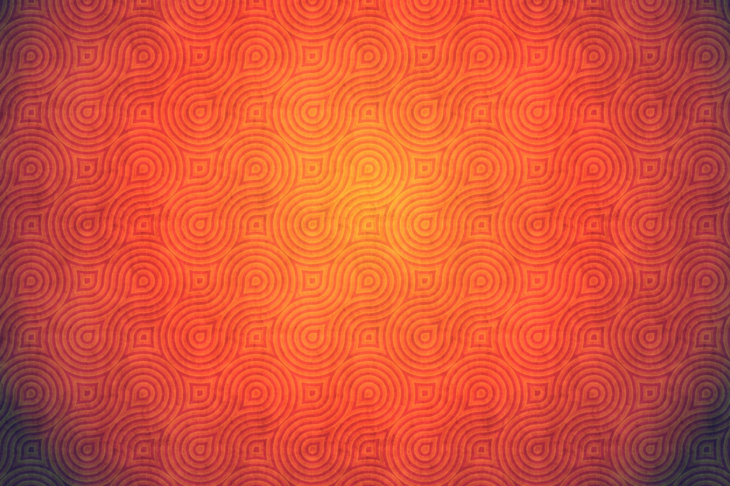 Screenshot №1 pro téma Orange Abstract Pattern 2880x1920