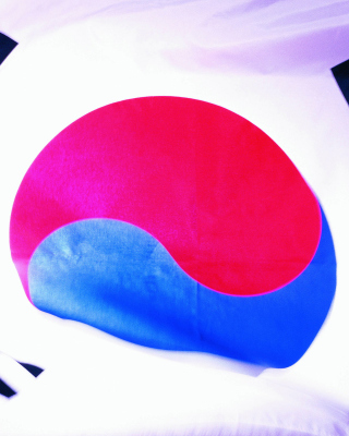South Korea Flag Background for HTC Titan