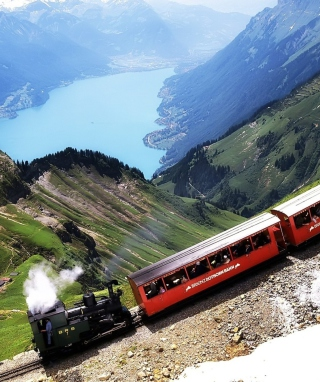 Old Switzerland Train sfondi gratuiti per iPhone 6 Plus
