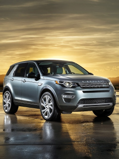 Screenshot №1 pro téma Land Rover Discovery Sport 240x320