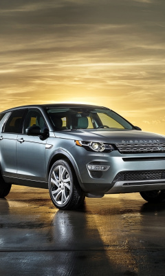 Screenshot №1 pro téma Land Rover Discovery Sport 240x400