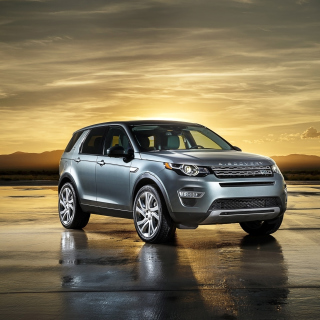 Kostenloses Land Rover Discovery Sport Wallpaper für iPad Air