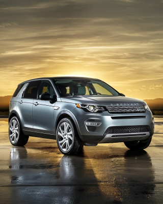Land Rover Discovery Sport Wallpaper for Nokia Asha 308
