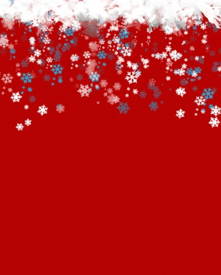 Free Snowflakes Picture for iPhone 6 Plus