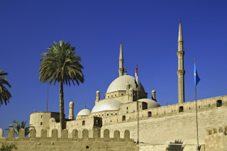 Citadel Cairo Wallpaper for Android, iPhone and iPad
