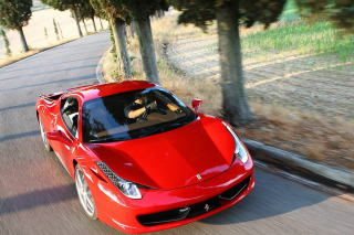 Ferrari 458 Italia Clearness Background for Android, iPhone and iPad