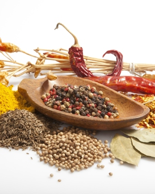 Spices and black pepper Wallpaper for Nokia Asha 306