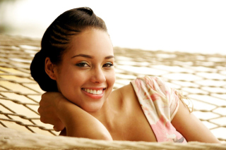 Free Alicia Keys Picture for Samsung Galaxy Tab 4G LTE