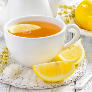 Tea with Citron sfondi gratuiti per iPad 3