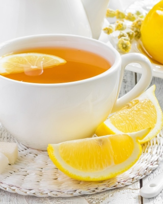 Tea with Citron Background for Nokia C-5 5MP