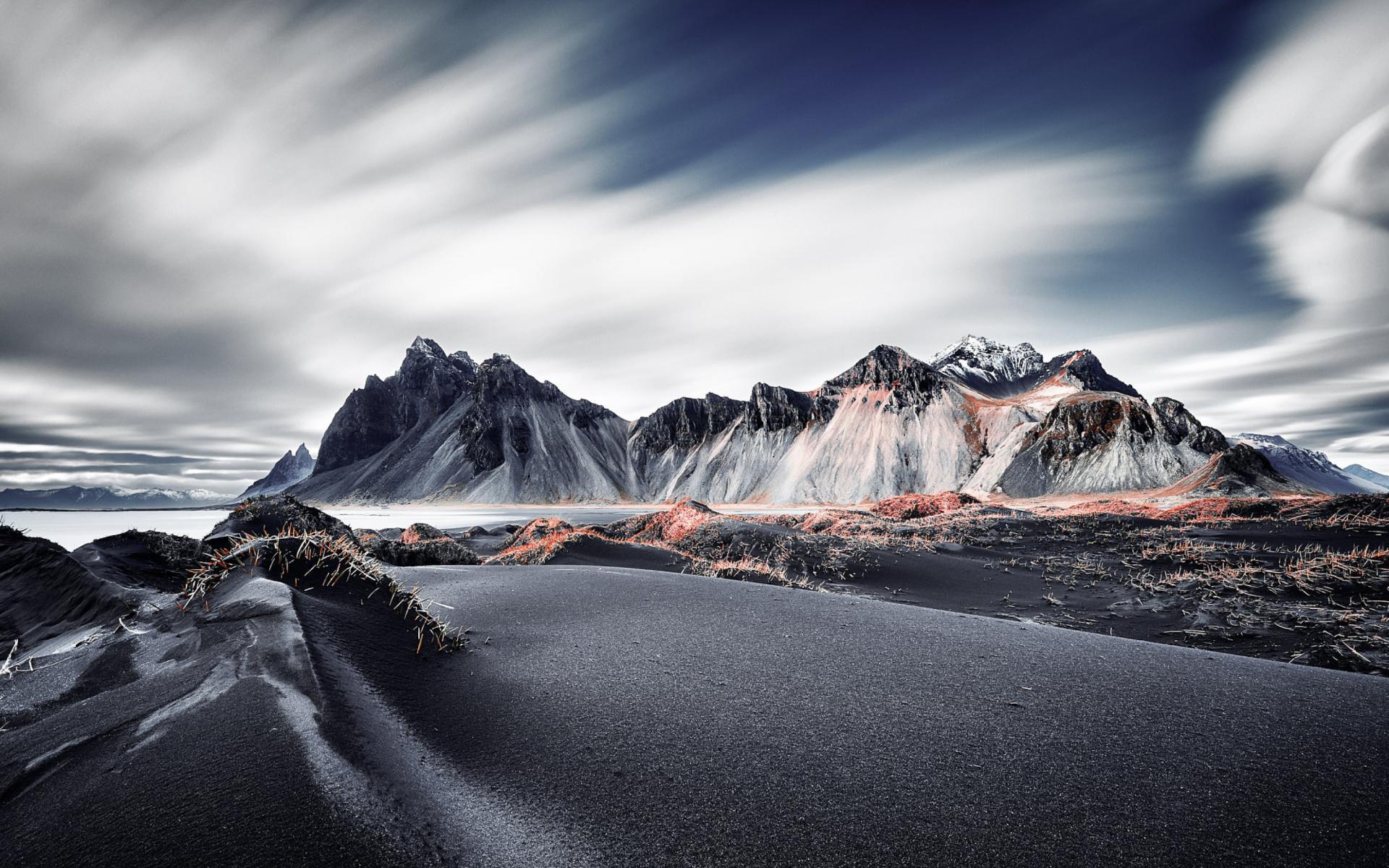 Black Mountains Wallpaper For Widescreen Desktop Pc 1920x1080 Full Hd