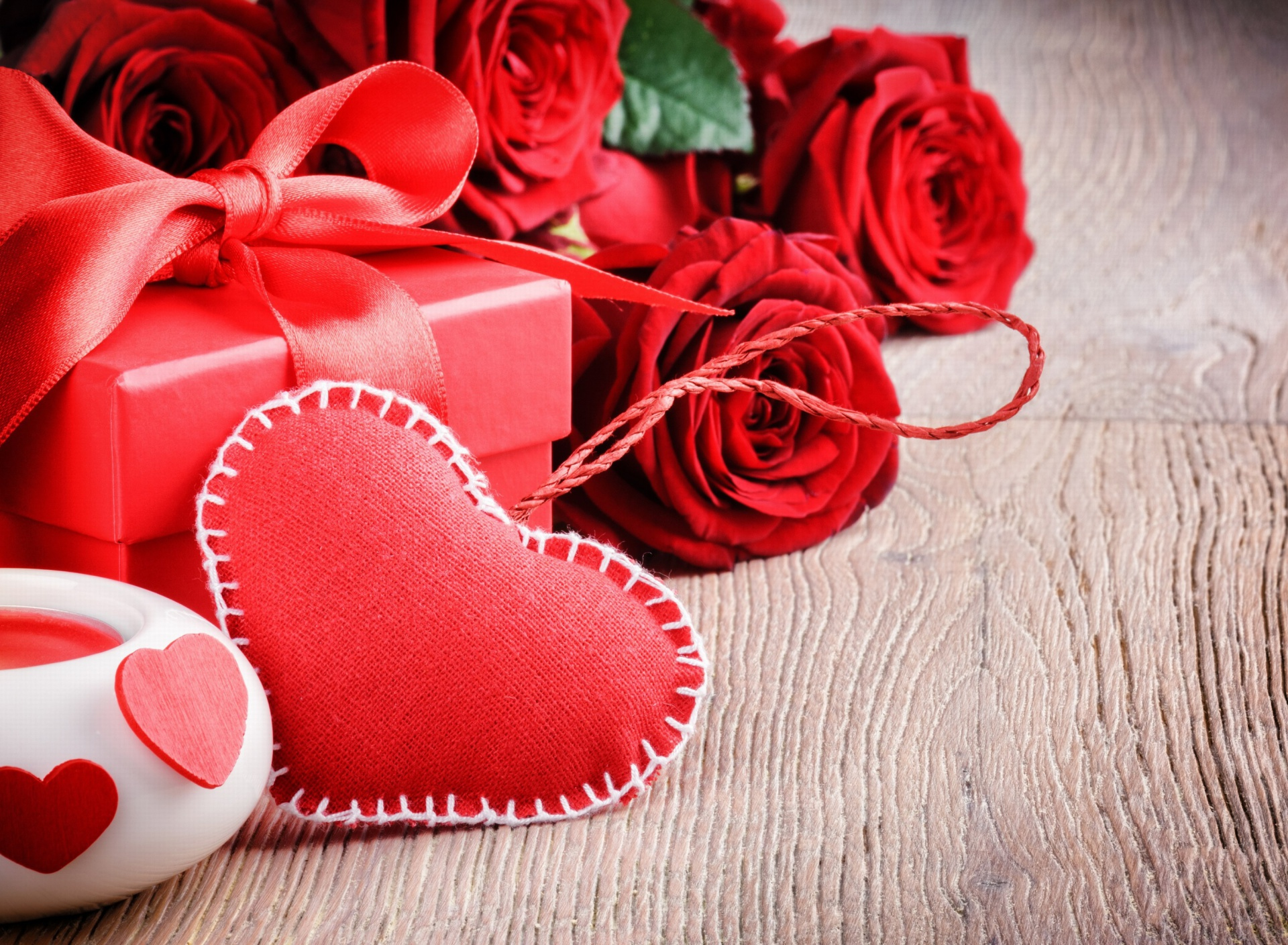 valentines day gift and hearts wallpaper for sony xperia z