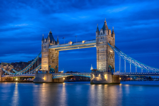 Tower Bridge In London - Obrázkek zdarma