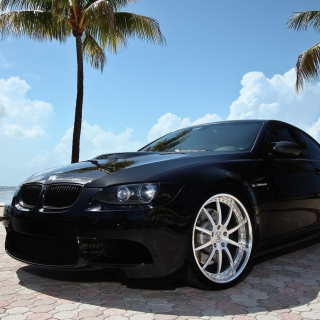 BMW M3 E92 Black Edition - Fondos de pantalla gratis para iPad Air