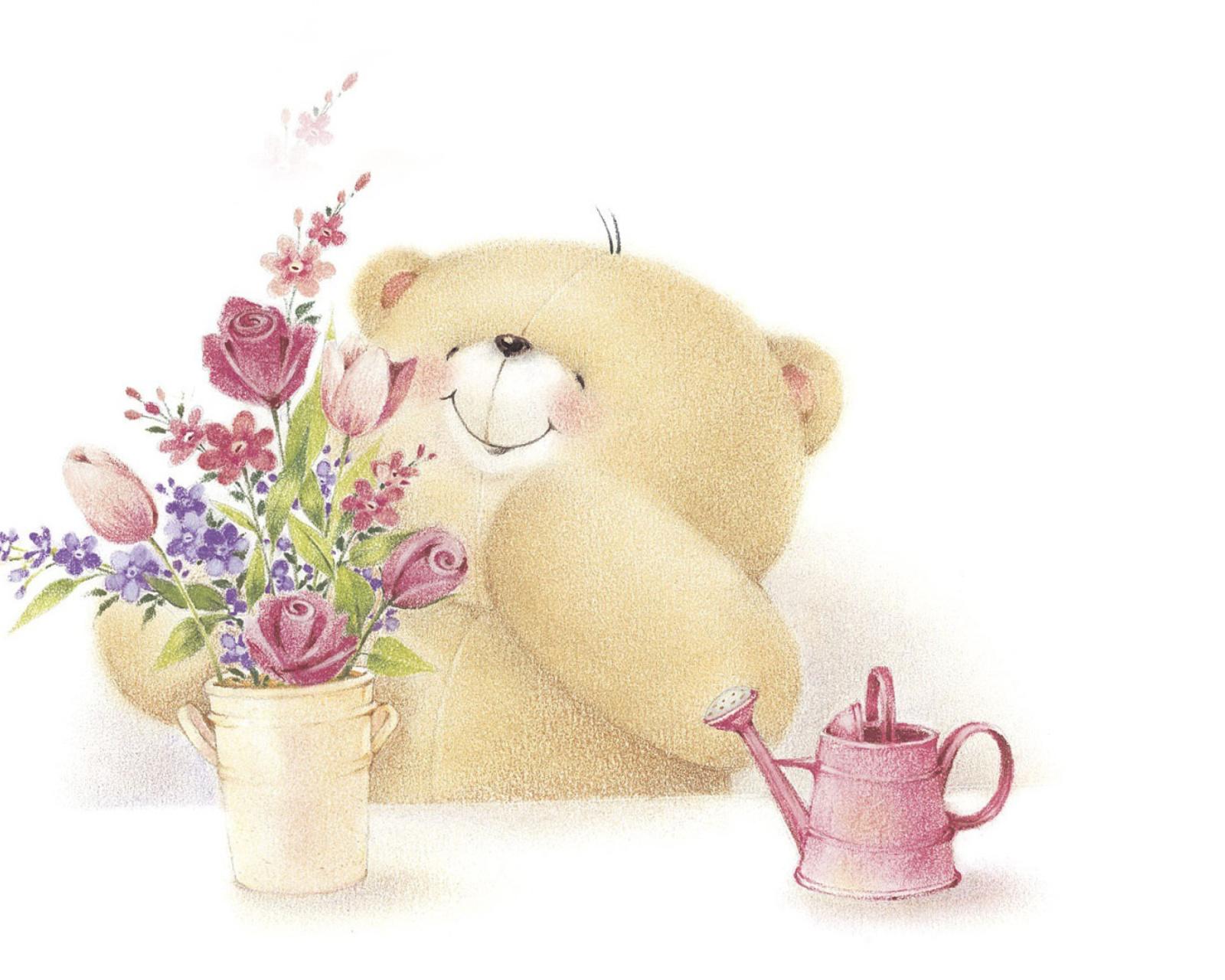 Цитаты, открытки доброе утро мишки