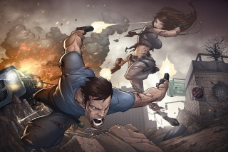 Game Art Shootout by Patrick Brown Picture for Android, iPhone and iPad