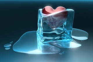 Frozen Heart Background for Android, iPhone and iPad
