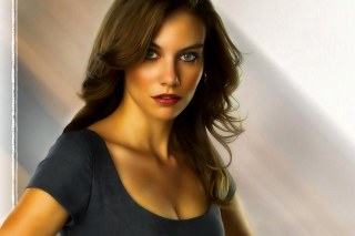 Lauren Cohan Wallpaper for Android, iPhone and iPad