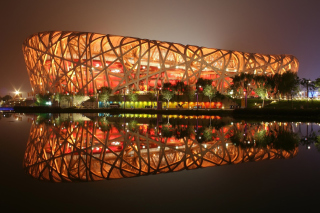 Beijing National Stadium Wallpaper for Android, iPhone and iPad
