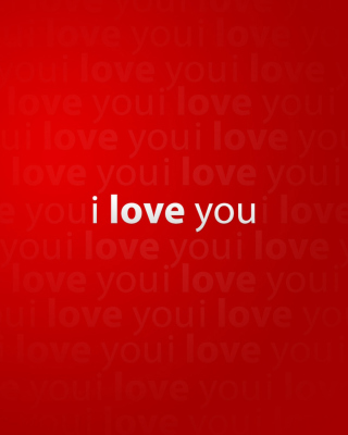 I Love You Wallpaper for 768x1280