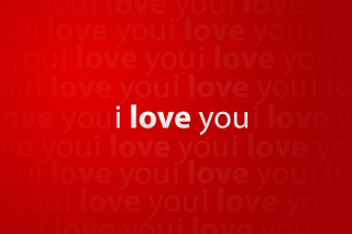 I Love You Background for Android, iPhone and iPad