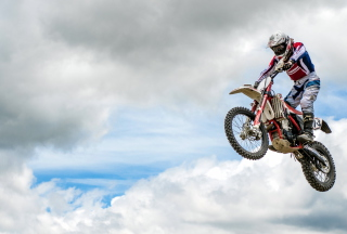 Extreme Biker Wallpaper for Android, iPhone and iPad