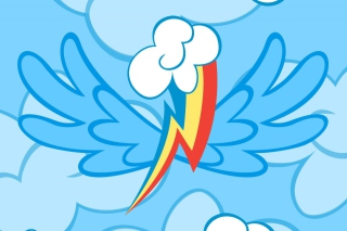 Rainbow Dash sfondi gratuiti per cellulari Android, iPhone, iPad e desktop