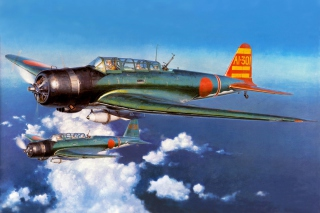 Free Nakajima B5N Airplane Picture for Android, iPhone and iPad