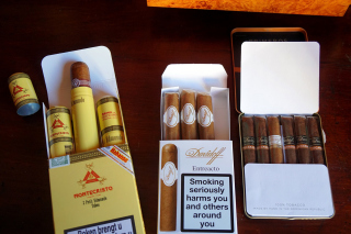 Cuban Montecristo Cigars Wallpaper for Android, iPhone and iPad