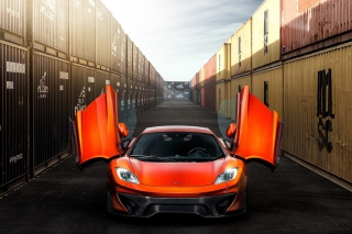 McLaren MP4-VX Background for Android, iPhone and iPad