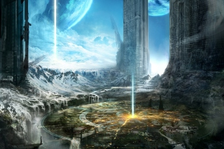 Free Fantasy Space World Picture for Android, iPhone and iPad