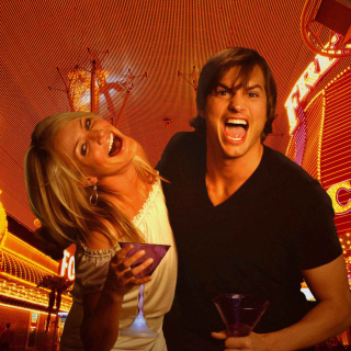 Cameron Diaz And Ashton Kutcher in What Happens in Vegas - Obrázkek zdarma pro 2048x2048