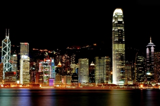 Hong Kong City Background for Android, iPhone and iPad