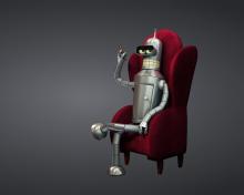 3D Bender Futurama para 220x176