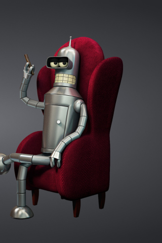 3D Bender Futurama para Huawei G7300