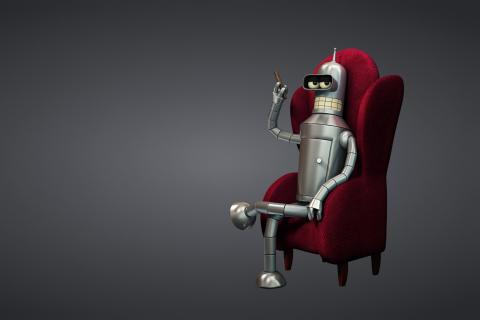 3D Bender Futurama para LG E400 Optimus L3